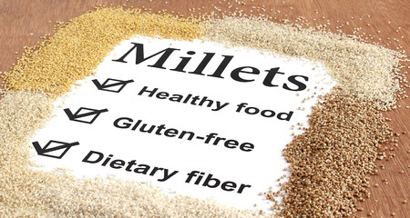 Indian Millet diet plan for weight loss and Diabetes