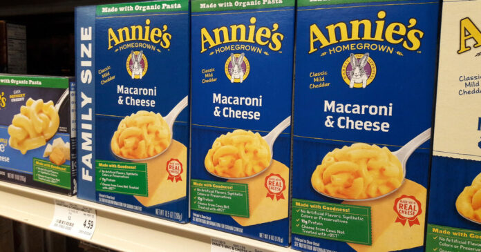 Annie's Pledges to Purge a Class of Chemicals From Its Mac and Cheese