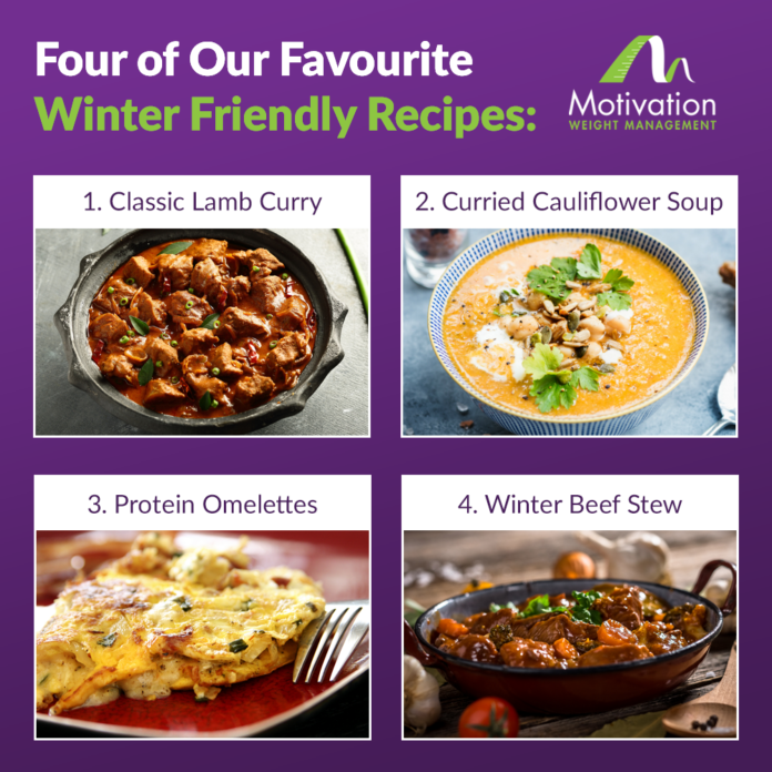 Four Favourite Winter Friendly Recipes