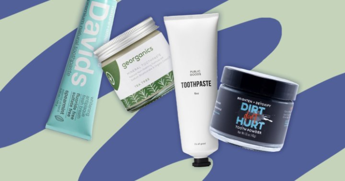 The 10 Best Natural Toothpastes For A Clean, Dazzling White Smile