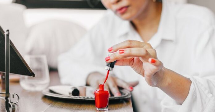How To Nail A Smudge-Free Manicure With One Classic Trick