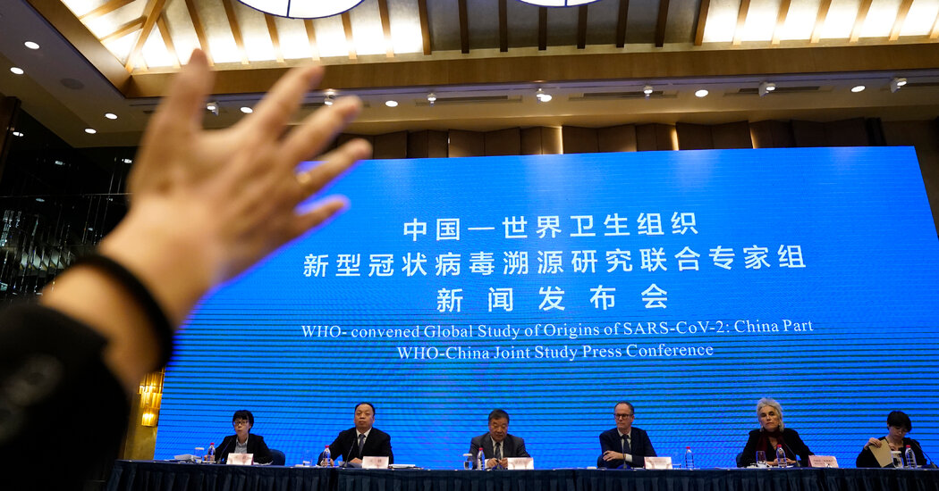 Virus Origins Remain Unclear in W.H.O.-China Inquiry