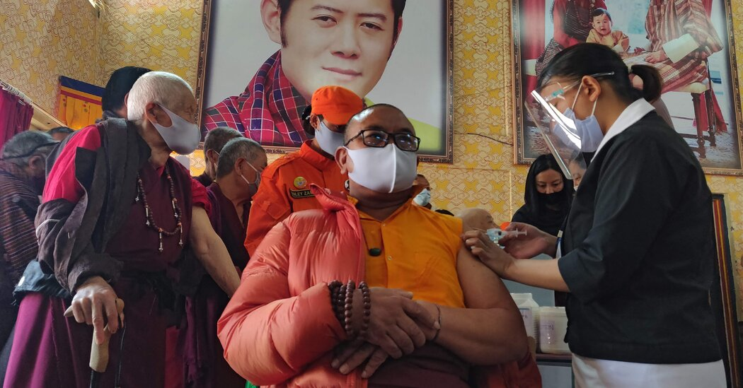 How the Tiny Kingdom of Bhutan Out-Vaccinated Most of the World