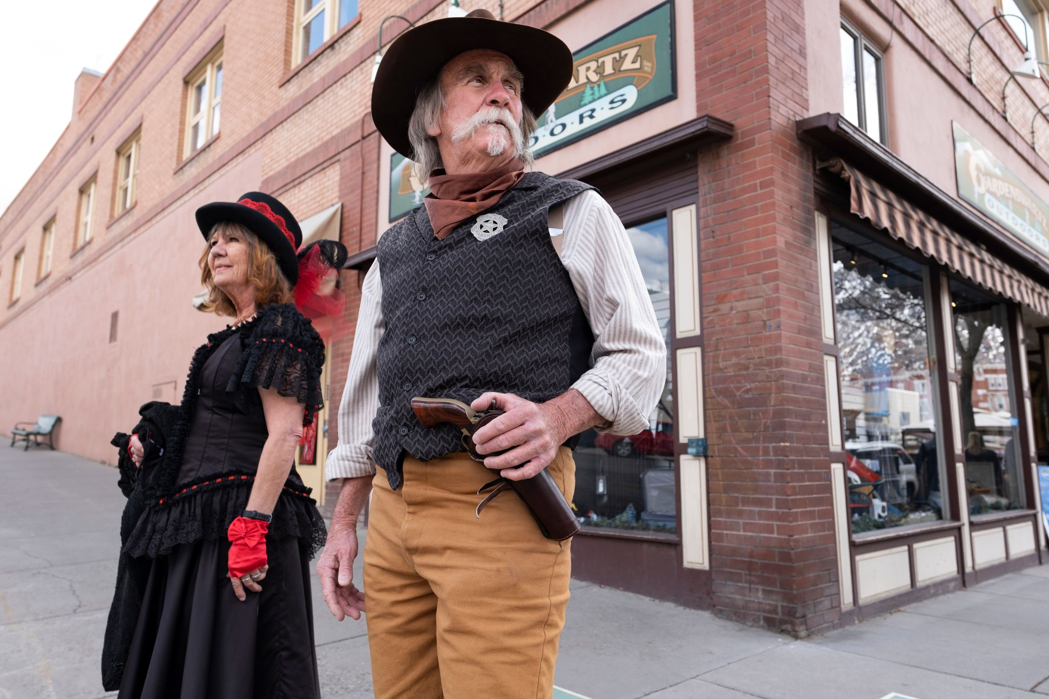 Durango's Covid 'Cowboy' Rounds Up Spring Break Scofflaws, Lines 'Em Up for Shots