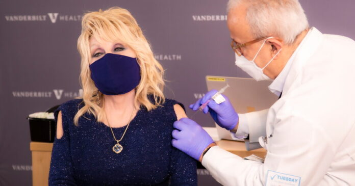 Celebrities Are Endorsing Covid Vaccines. Does It Help?