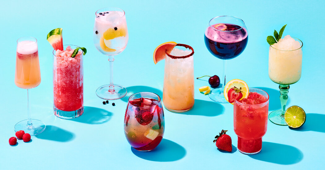 Summer Drink Recipes - The New York Times